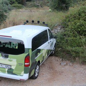 4x4 safari adventure minivan